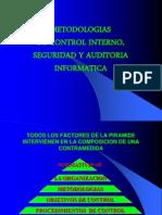 Metodologias de Control Internoseguridad y Auditoria Informatica