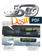GbSat Satellite Receiver User Manual