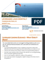 Leveraged Loan Monthly -Aug-14