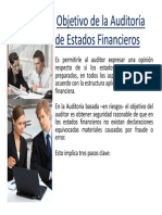 Fases de La Auditoria de Estados Financieros 2014