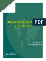 Ley LOT Venezuela Expatriados y Altos Directivos
