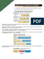 DOCUMENTOS DE APOYO. Ca¦ülculo manual de subredes