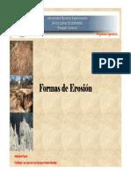 Formas de Erosion Imagenes Final