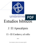 J.13.- El Cordero y El Rollo