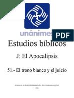 J.51.- El Trono Blanco y El Juicio