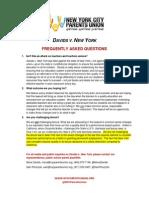Davids v. New York FAQs