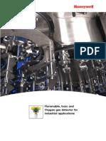 Datasheet XCD_detector de Gas Metano