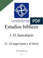 J.23.- El Angel Fuerte y El Librito