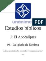 J.06.- La Iglesia de Esmirna