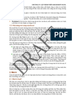 VBA Excel Draft