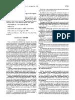 Estatuto Carreira Docente Universitaria DL-205-09