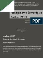 Apresentaçao de Analise Swot - Eng. de Seg. Do Trabalh