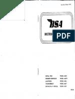 Bsa a50 a65 Manual