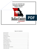 1014-15 Dallas County Schools Budget