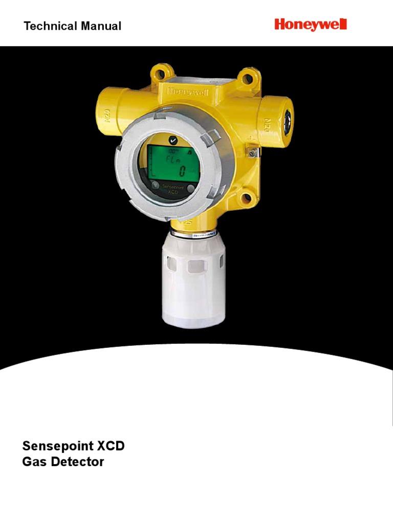 Detector de Gas Sensepoint XCD Technical Manual ...