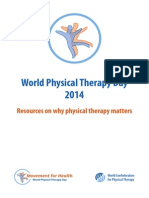World Physical Therapy Day 2014 - Resources on Why PT Matters