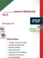 Presentation_Onshore Bid Round 2013