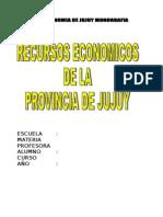 Economia Jujuy