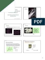 Caracterização de Materias Primas Minerais - Revisão de Conceitos de Mineralogia