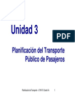 Unidad 3 - Transporte Público Pasajeros