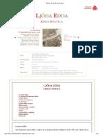 Bifröst _ Fonti _ Edda Poetica