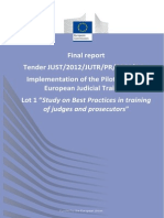EU Pilot Project Final Report LOT 1 COM V