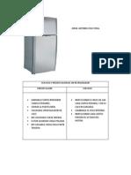 Servicio y Preservacion de Un Refrigerador Jacf