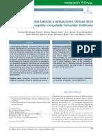 Principios Basicos y Aplicaciones Clinicas de La Tomografia Multicorte