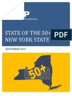 2014 State of the 50 Plus in New York State AARP Res Gen