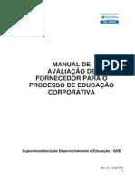 Manual Avaliacao Fornecedor Processo Educacao Corporativa (1)