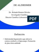 Dr. Romero Alzheimer