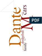 Dante M's Wordle