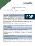 Relatório de Autoavaliação - Marta