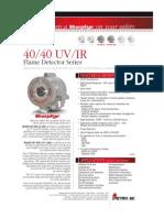 Flame Detector 40 40 Uvir