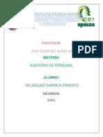 Auditoria de Personal