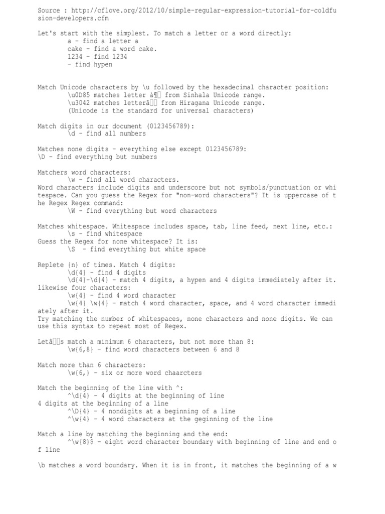 Regex | Regular Expression | Letter Case