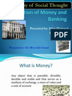 Evolution of Money and Banking