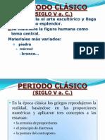 Periodo Clásico (Siglo v A