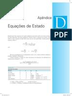 Apêndice D - Equações de Estado