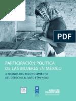 Participación Política de Las Mujeres en México