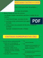 Clases de Puntadas ASTMD