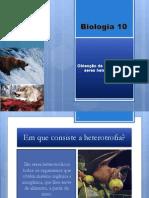 B6 - Obtenção de Matéria Pelos Seres Heterotróficos(1)