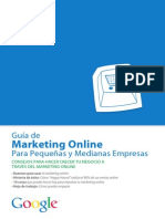 Guía de Marketing on Line Para Pequeñas y Medianas Empresas