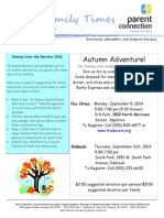 Fall 2014-Parent Connection