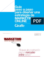 Guia Paso a Paso Para Diseñar Estrategias de Marketing on - Line