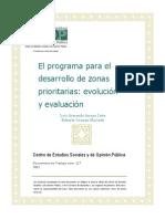 Programa Desarrollo Zonas Prioritarias Docto117
