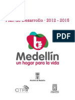 Plan Desarrollo Municipal Medellin 2014