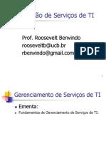 01 - Fundamentos Em Gerenciamento de Servicos de TI