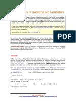 Comandos IP Basicos No Windows
