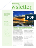 Group 48 Newsletter - September 2014